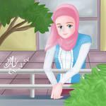 im happy im muslim girl