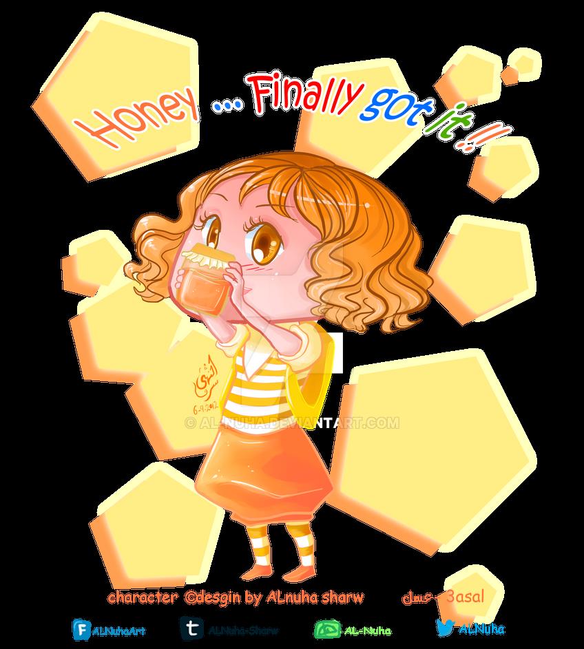 Honey Chibi by AL-Nuha