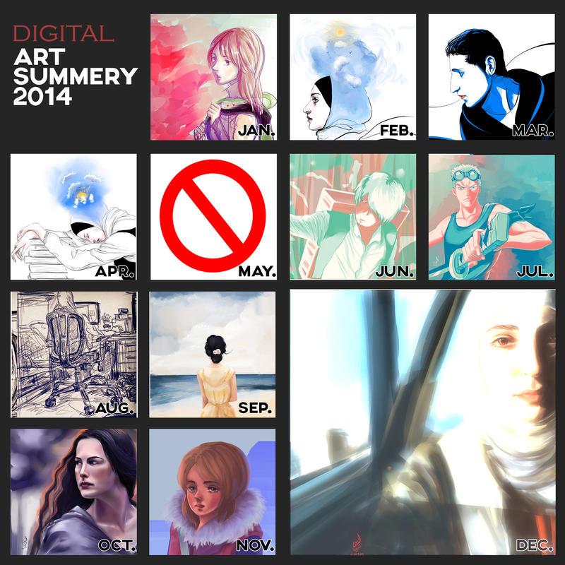 2014 digitalART summary by AL-Nuha