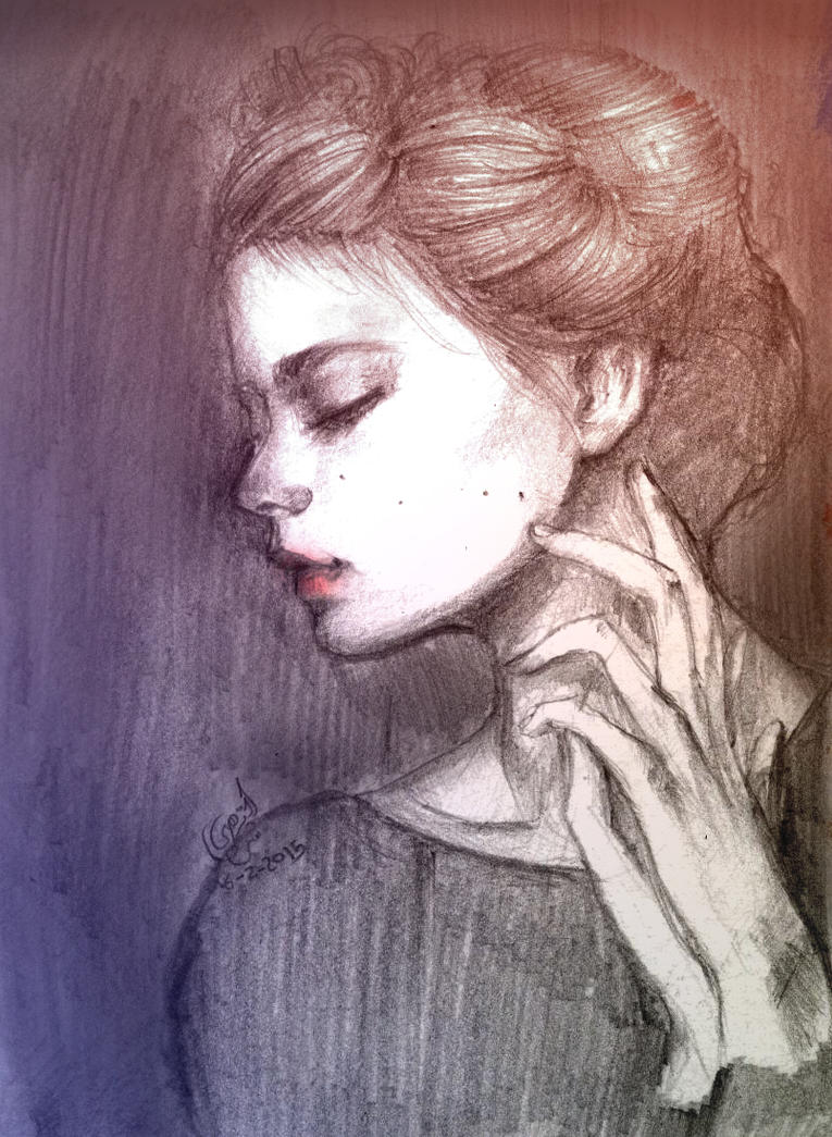 portrait by AL-Nuha