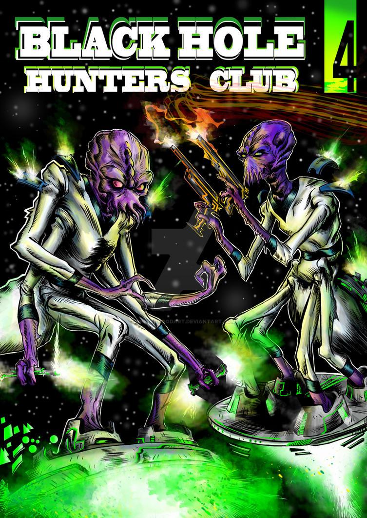Black Hole Hunters Club #4 cover by prettygoodart