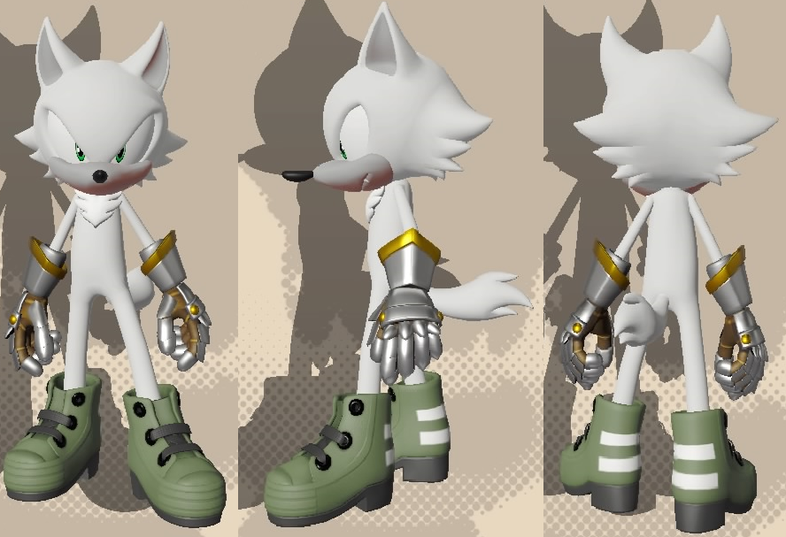 Sonic Forces Avatar - Zylo the Arctic Wolf by Ver2k0