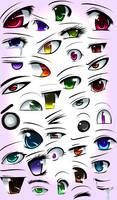 Anime Eyes by animerckxx