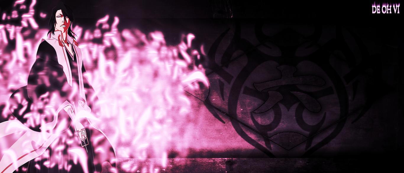 Bleach, Sword, Kuchiki Byakuya, Bankai, Silhouette Wallpapers HD ...