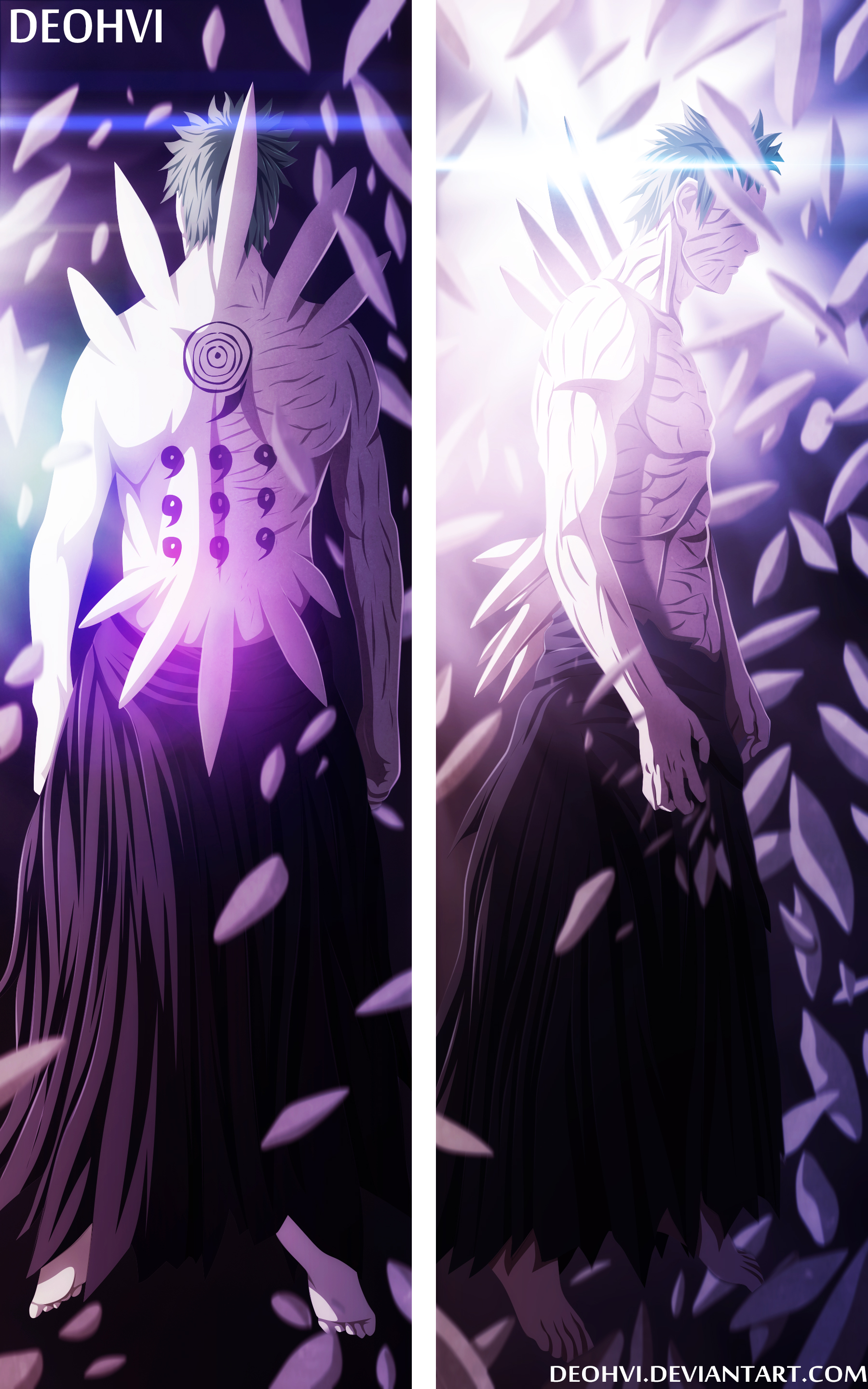 Naruto 638 - coloring - obito newest form by ~DEOHVI