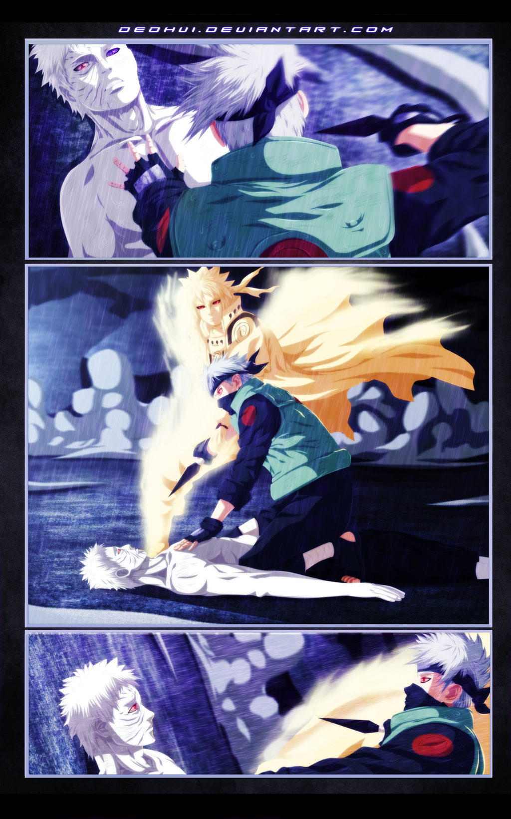 Naruto 655 - The Beginning of the End - Coloring by DEOHVI
