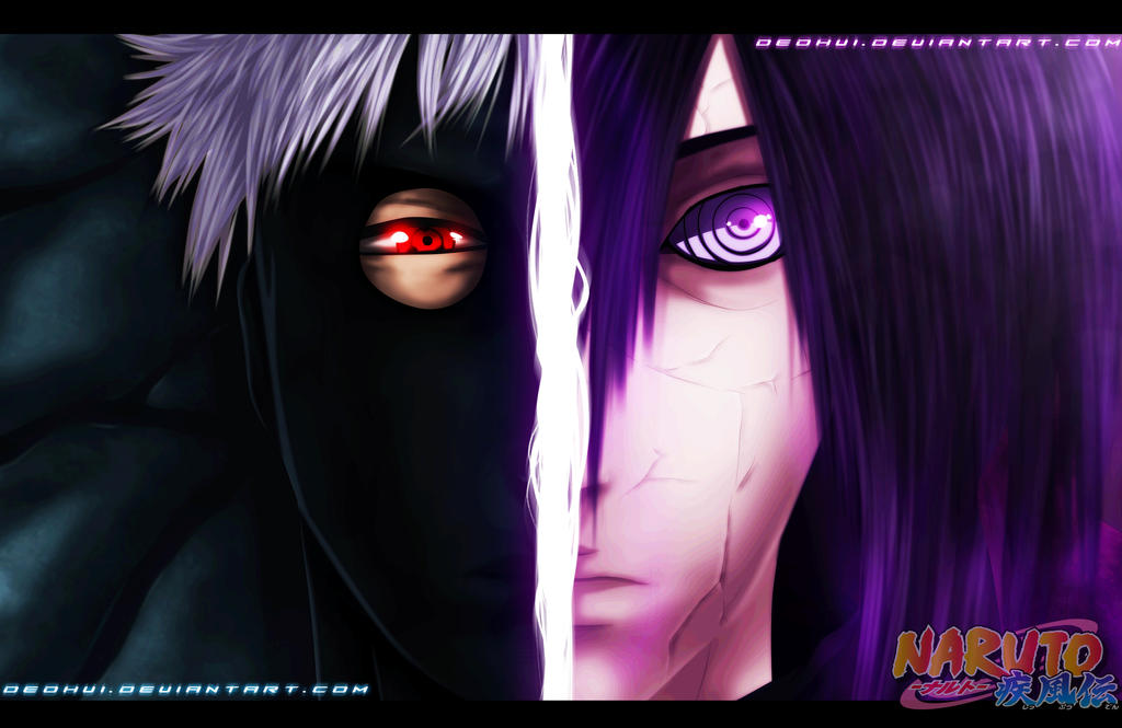 Naruto 656 - Obito and Madara - Coloring by DEOHVI