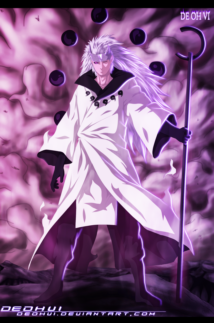 naruto 663 madara sage of six paths coloring by deohvi on deviantart