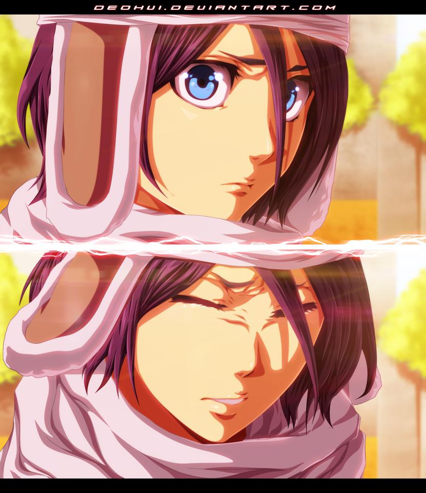 BLEACH 569 - Rukia - Coloring by DEOHVI