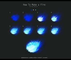 How to make a Fire - Using a Mouse by DEOHVI