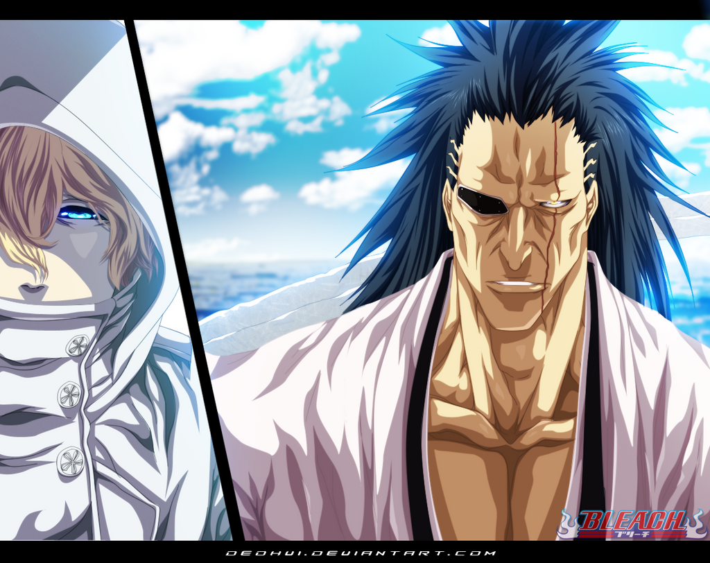 Bleach 573 - I am Kenpachi - Coloring by DEOHVI