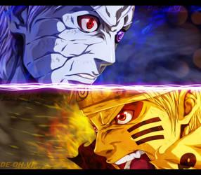 Naruto vs Obito by DEOHVI