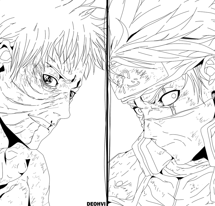 Naruto Shippuden Lineart : Naruto lineart by deohvi on deviantart