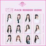 Pack render IZONE