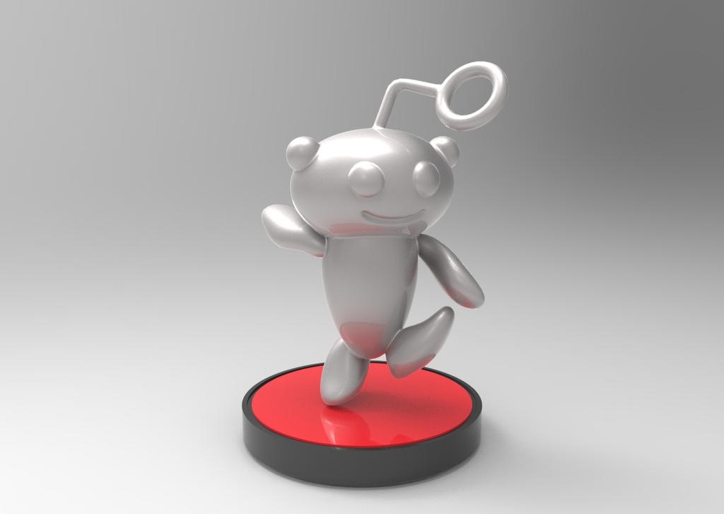 reddit amiibo keyshot by splatoonz on deviantart