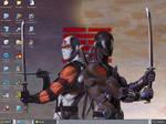 my GI Joe Ninja's background