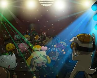 KK Dance Party by scowlingelf