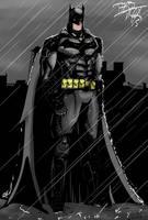 Arkham Batman by TheoFayde