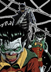 The Batman Who Laughs by TheoFayde