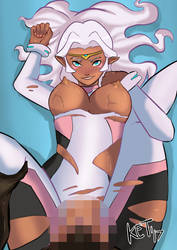 Allura Commission NSFW Censored by TheoFayde