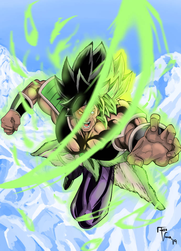 Go Broly Go by TheoFayde