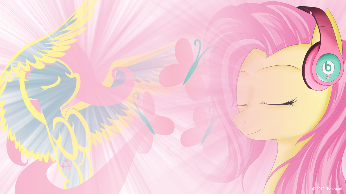 Simple Wallpaper Music Deviantart - fluttershy_likes_listening_to_music_wallpaper_by_nsaiuvqart-d4zjuef  Picture_433463.png
