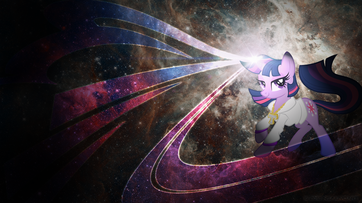 Twilight Spacelicious WP by nsaiuvqart