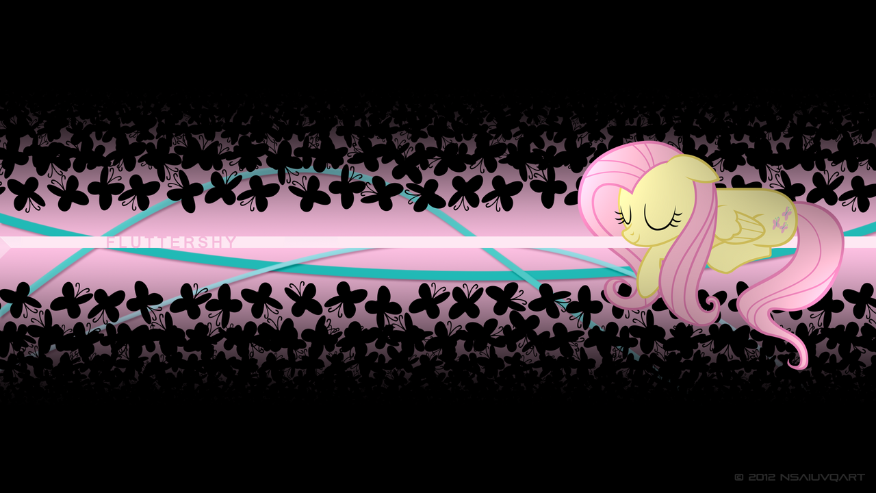 Fluttershy - Peace and Quiet WP by nsaiuvqart