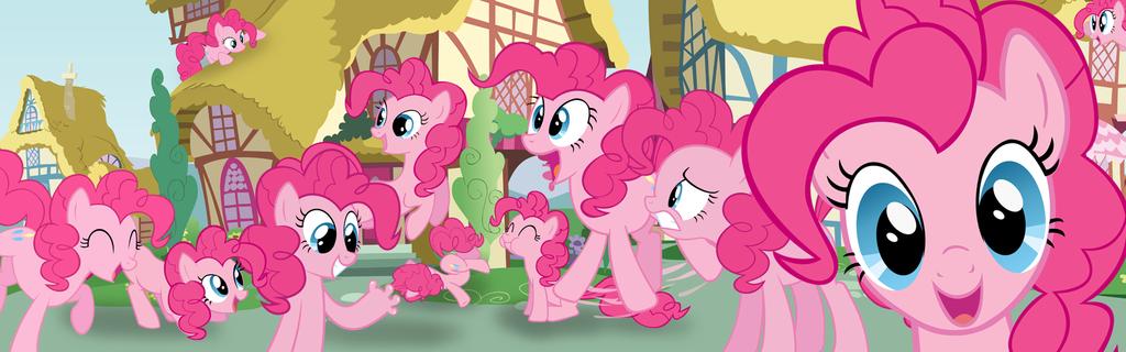 Pinkie Pie Takeover Banner by nsaiuvqart