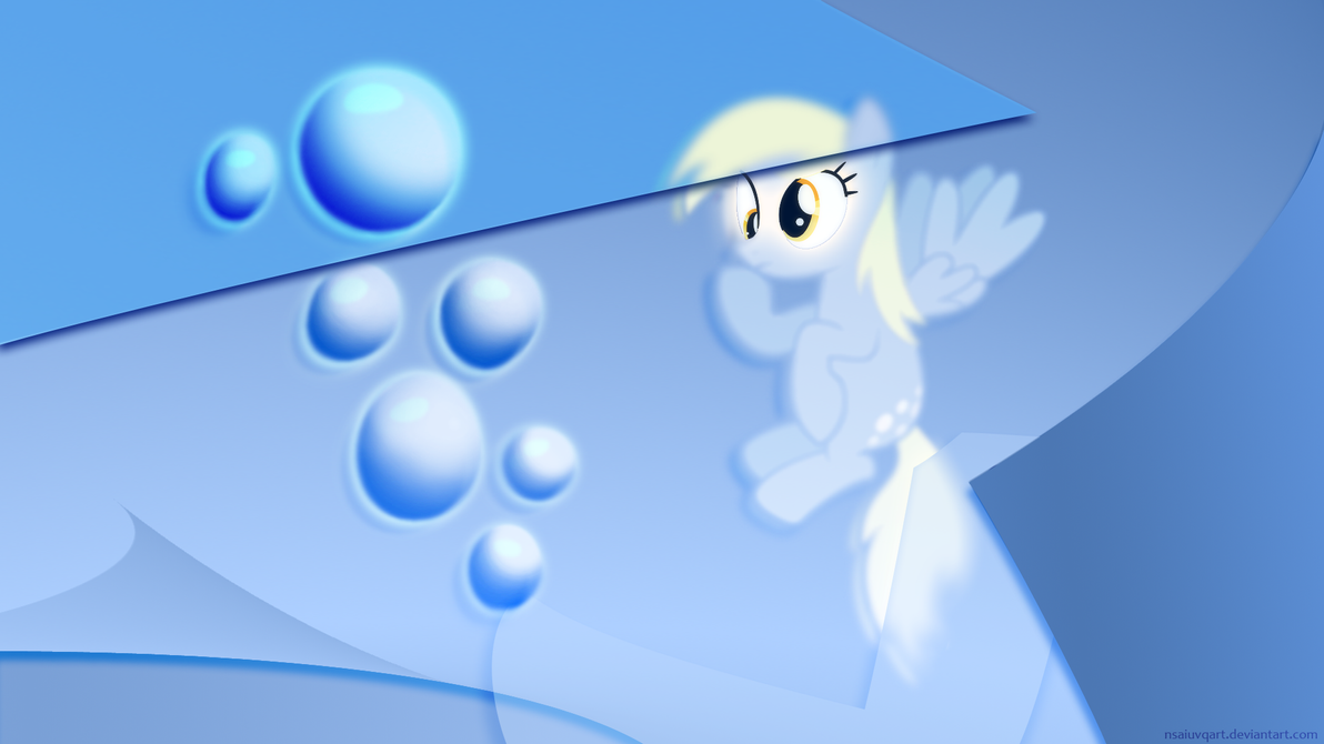Derpy - BuBBles WP by nsaiuvqart