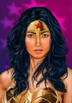 Portrait of a Warrior: Wonder Woman