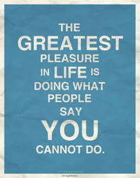 The Greatest Pleasure... by IrvingGFM