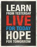 Learn - Live - Hope