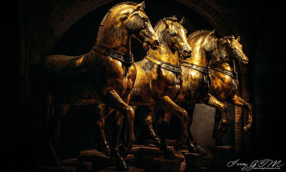Triumphal Quadriga by IrvingGFM