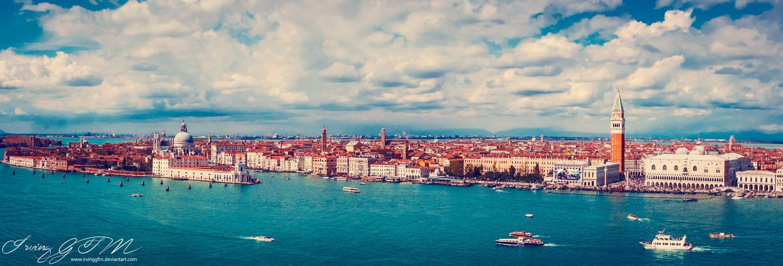 Venice: View from St. Giorgio's Campanile