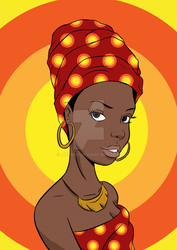 Afro pop art by Mbembe