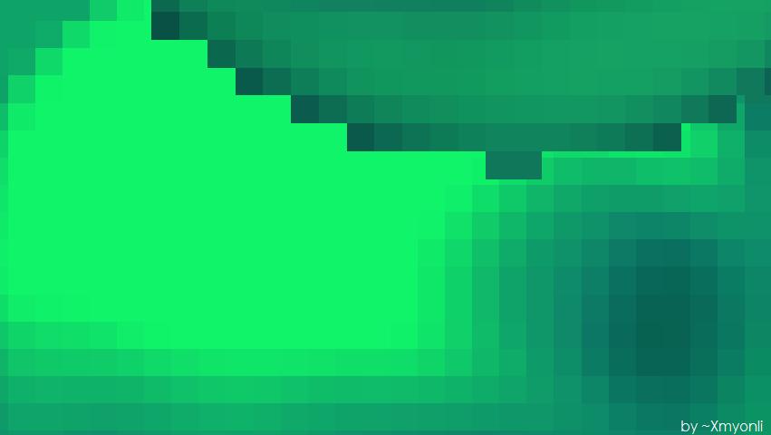 Minecraft Xp Bubble Wallpaper (Green)2
