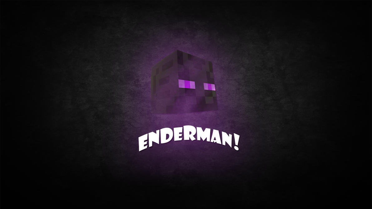 Minecraft: Enderman Wallpaper by Xmyonli on DeviantArt