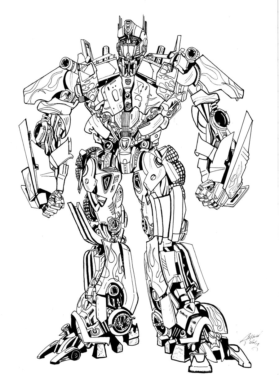 optimus prime by ashwin-visser on deviantart - Optimus Prime Face Coloring Pages