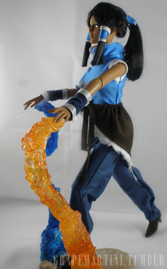 Legend Of Korra Toys : Avatar korra side by taintedartst on deviantart