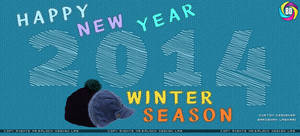 New Year 2014 Facebook Cover