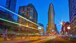 USA New York City Flatiron Building