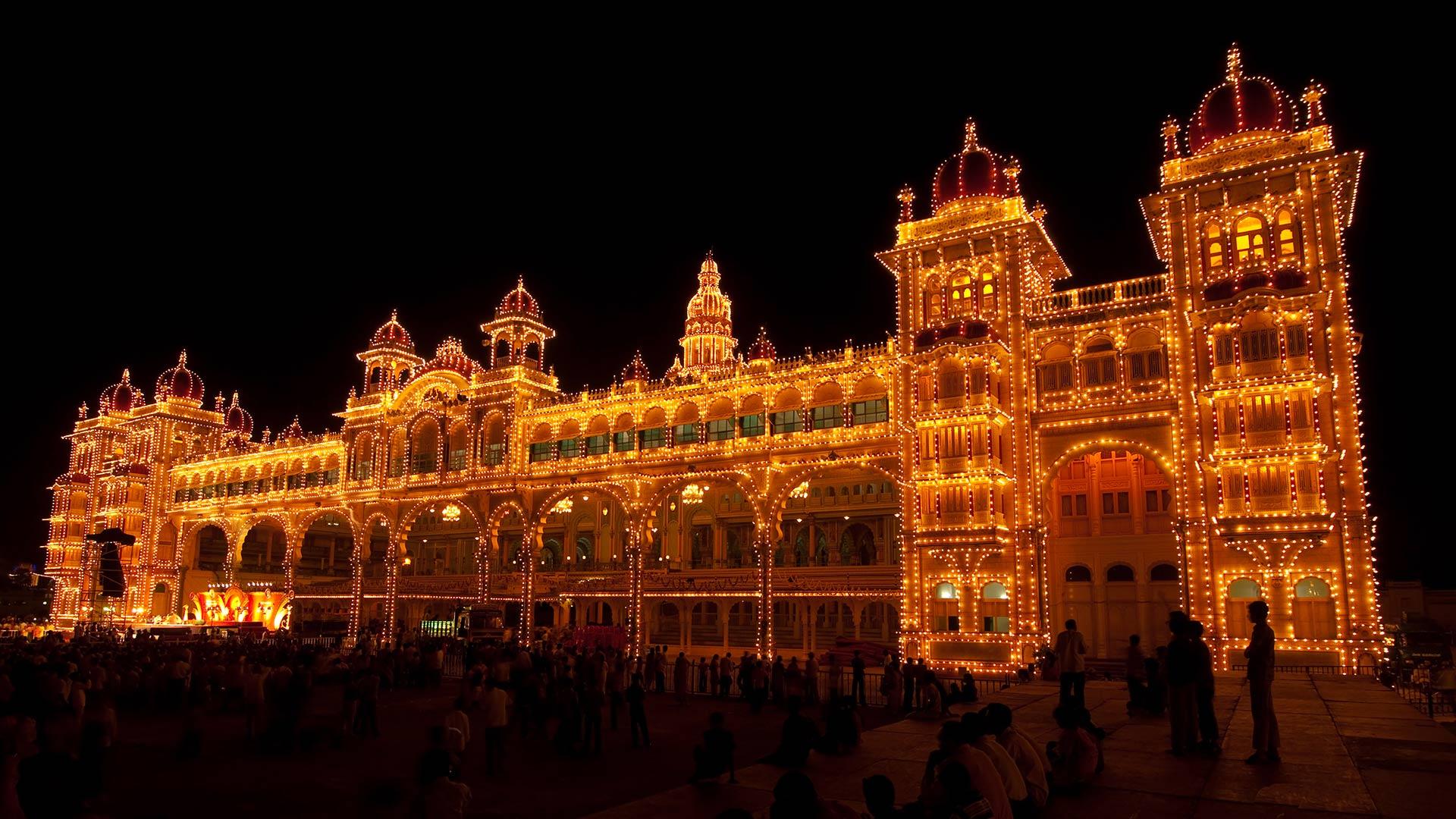 The Mysore Palace India
