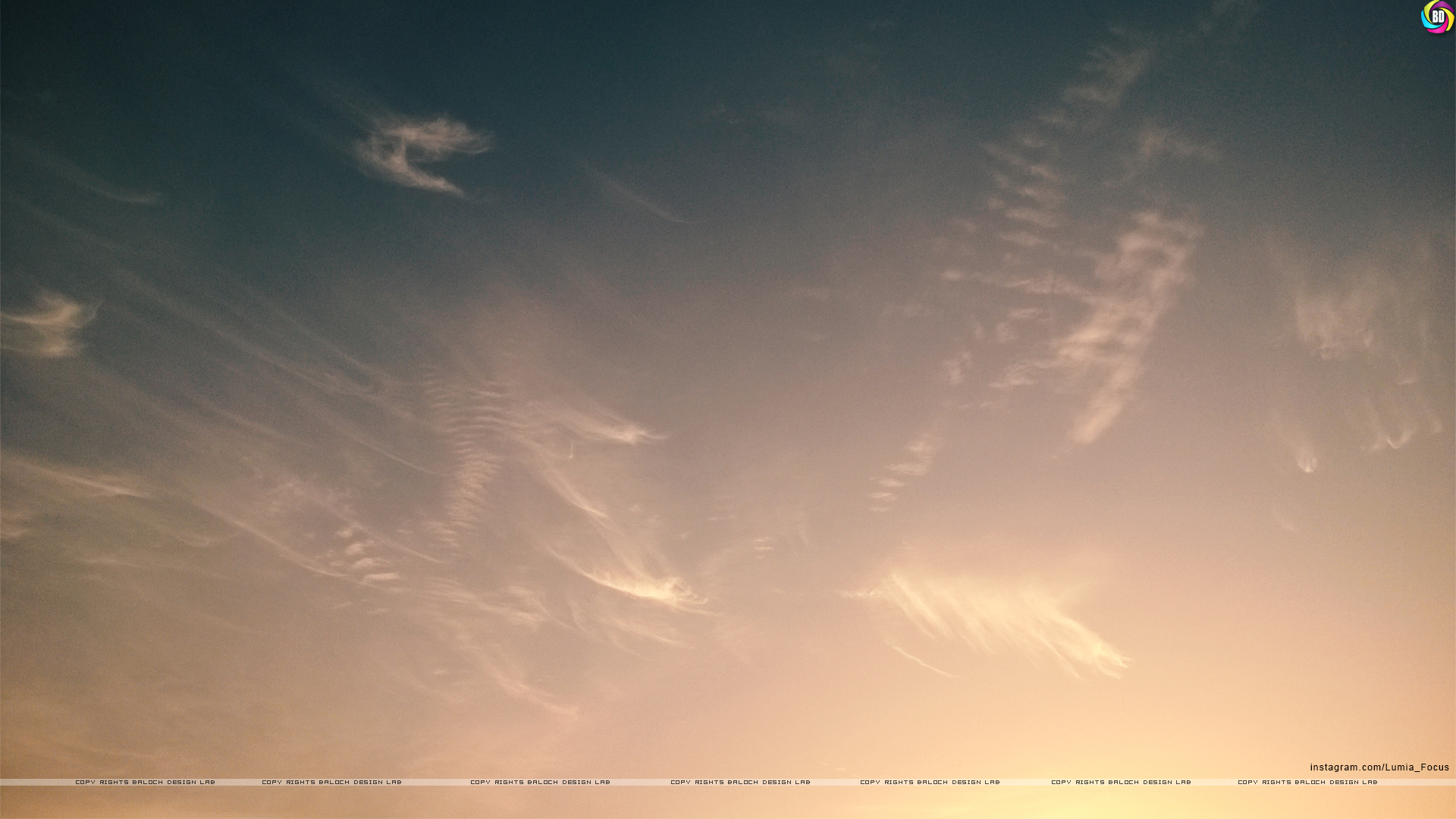 Sunset and Sky,