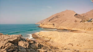 Beach Mountains, Kund Malir, Balochistan, Pakistan