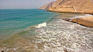 Kund Malir Beach, Mountains, Balochistan