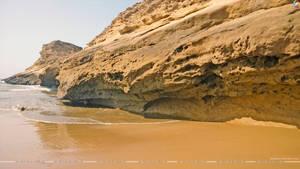 Mountain and WaterScape, Kund Malir Beach,