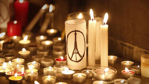 HongKong Tribute To Victims of Attacks Clerk Paris