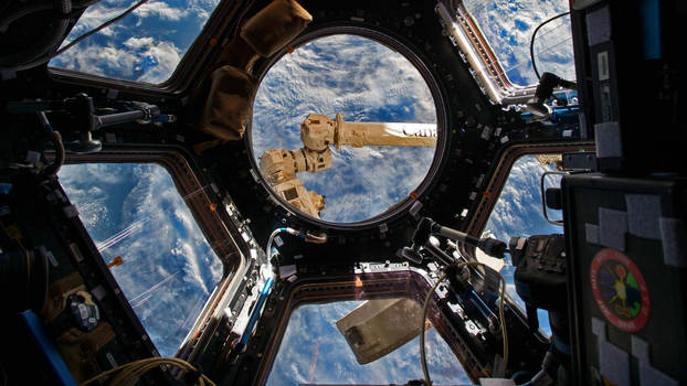 View From The Cupola of The International Space