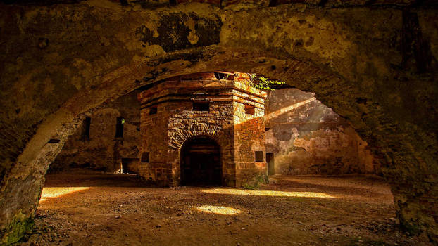 Govajdia blast furnace, Ghelari, Romania